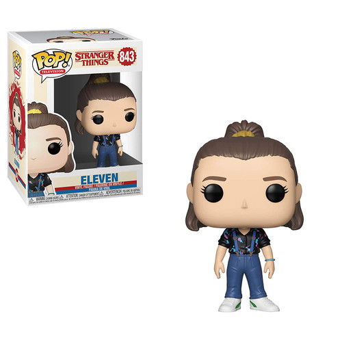 Funko Stranger Things POP! TV Eleven Vinyl Figure #843 [Season 3, Overalls, Damaged Package]