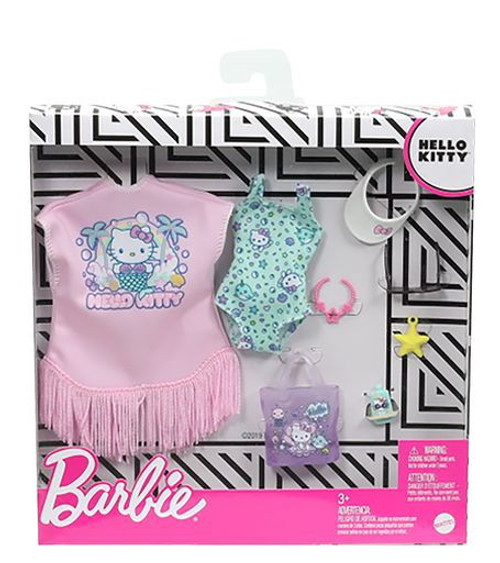Barbie Hello Kitty Swimsuit & Accessories Fashion Pack
