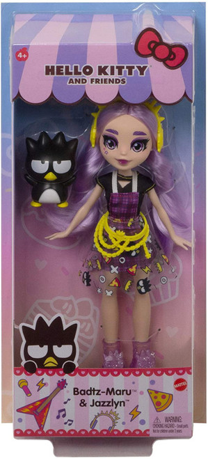 Sanrio Hello Kitty & Friends Badtz-Maru & Jazzlyn Doll