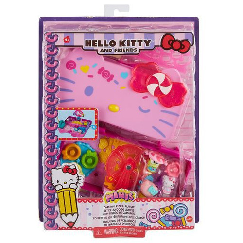 Sanrio Hello Kitty & Friends Candy Carnival Pencil Box Playset (Pre-Order ships March)