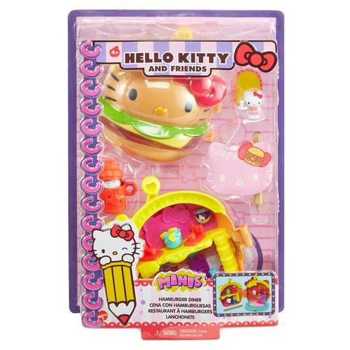 Sanrio Hello Kitty & Friends Hamburger Diner Compact Playset (Pre-Order ships March)