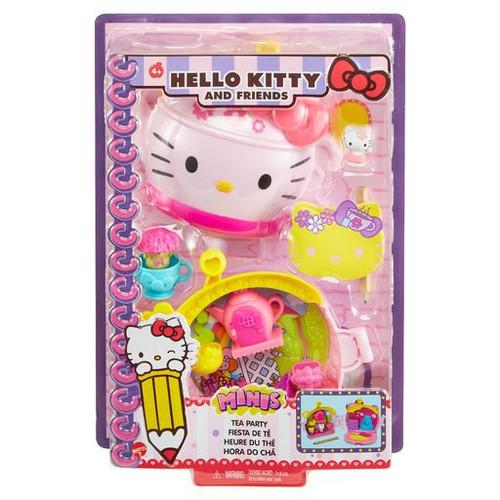 Sanrio Hello Kitty & Friends Tea Party Compact Wristlet Playset