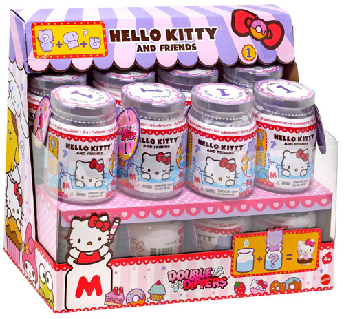 Sanrio Hello Kitty & Friends Double Dippers Mystery Box [16 Packs]