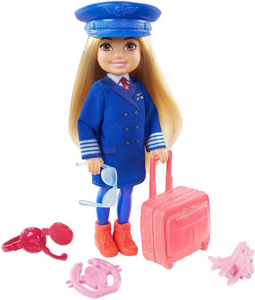 Barbie Chelsea Can Be... Pilot Mini Doll