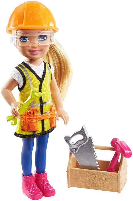 Barbie Chelsea Can Be... Construction Worker Mini Doll