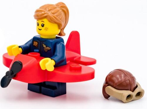 LEGO Minifigures Series 21 Airplane Girl Minifigure [Loose]