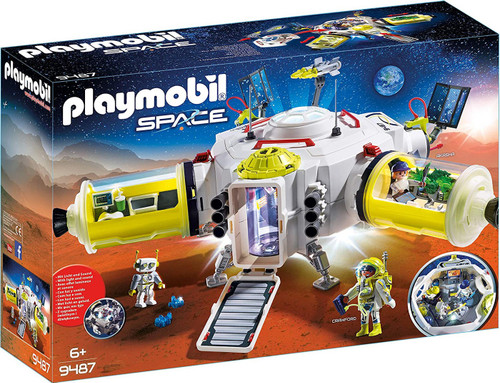 Playmobil Mars Space Station Set #9487
