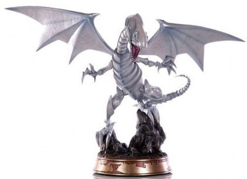 YuGiOh ArtFXJ Blue-Eyes White Dragon 9.5-Inch Collectible PVC Statue [White Variant] (Pre-Order ships September)