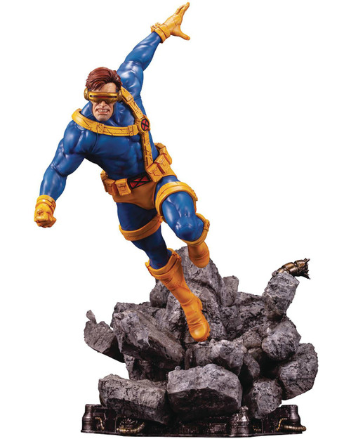 Marvel X-Men Fine Art Cyclops 16-Inch Limited Edition Statue (Pre-Order ships September)