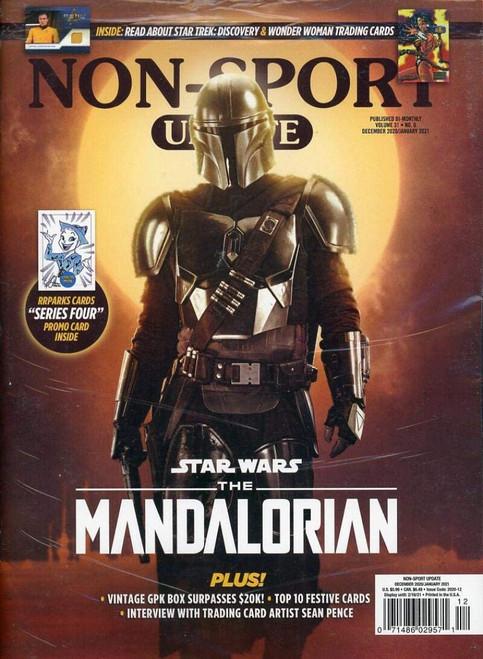 Beckett Non-Sport Update The Mandalorian Magazine [Polybagged]