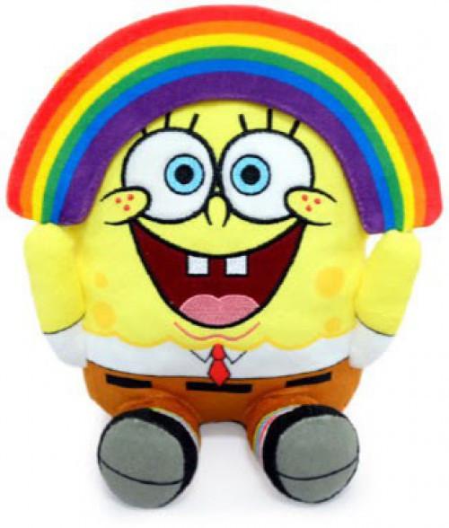 Nickelodeon Spongebob Squarepants Phunny SpongeBob 8-Inch Plush [Rainbow]