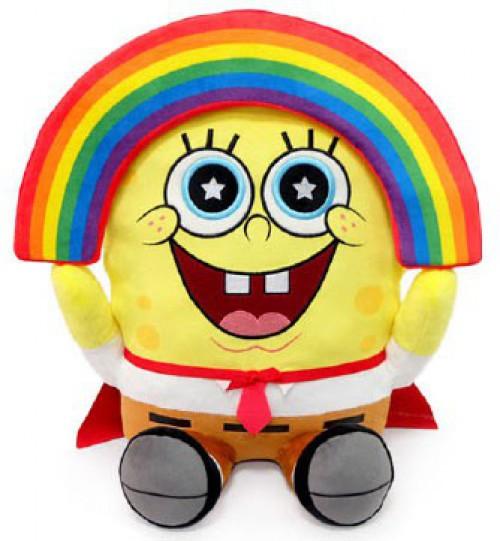 Nickelodeon Spongebob Squarepants Phunny SpongeBob 16-Inch Plush [HugMe, Vibrates!]