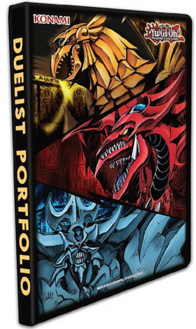 YuGiOh Trading Card Game Card Supplies Egyptian Gods 9-Pocket Portfolio (Pre-Order ships July)