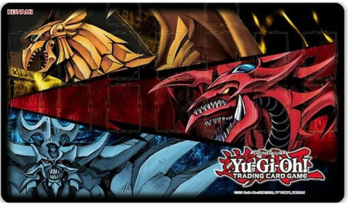 YuGiOh Trading Card Game Card Supplies Egyptian Gods Playmat (Pre-Order ships July)