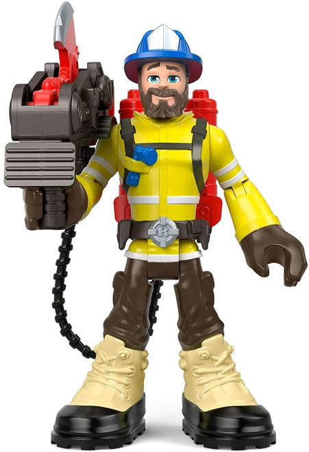 Fisher Price Rescue Heroes Forrest Fuego 5.5-Inch Figure Set