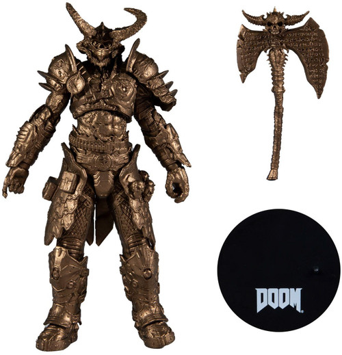 McFarlane Toys Doom Marauder Exclusive Action Figure [Bronze Variant] (Pre-Order ships February)