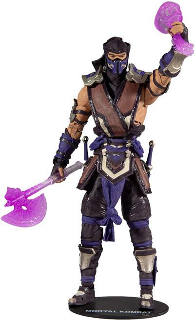 McFarlane Toys Mortal Kombat 11 Series 5 Sub Zero Action Figure [Winter Purple Variant]