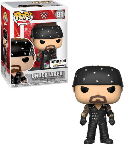 Funko WWE Wrestling POP! Sports Undertaker Exclusive Vinyl Figure #81 [Boneyard] (Pre-Order ships February)