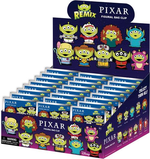 Pixar 3D Figural Foam Bag Clip Alien Mash Up Mystery Box [24 Packs]