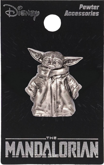 Star Wars The Mandalorian The Child Pewter Lapel Pin [Baby Yoda / Grogu] (Pre-Order ships September)