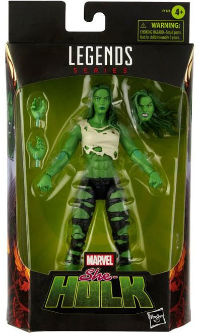 Marvel Legends She-Hulk Exclusive Action Figure [Comic Version] (Pre-Order ships July)