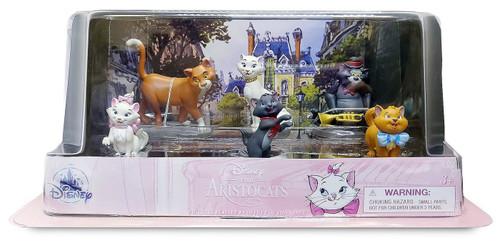 Disney Aristocats Exclusive 6-Piece PVC Figure Play Set