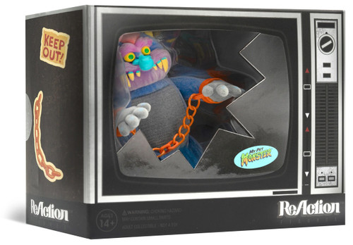 ReAction My Pet Monster Action Figure [Flocked, In Box]