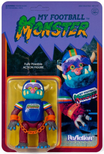 ReAction My Pet Monster My Football Monster Action Figure