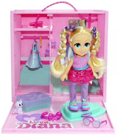 Love, Diana Mini Mall Mystery Shopper 6-Inch Doll & Playset