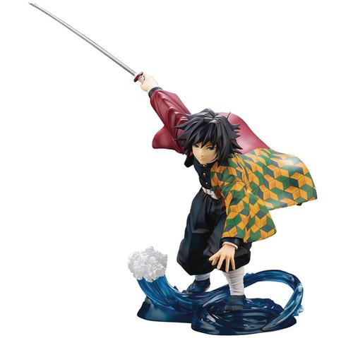 Demon Slayer: Kimetsu no Yaiba ArtFX-J Giyu Tomioka 7-Inch Collectible PVC Statue (Pre-Order ships November)
