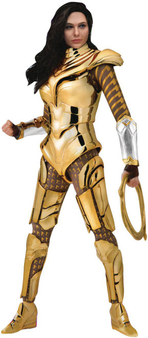 DC Wonder Woman 1984 Dynamic 8-ction Heroes Wonder Woman Action Figure DAH-026 [Gold Armor] (Pre-Order ships August)