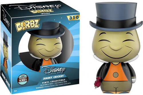 Funko Disney Dorbz Jiminy Cricket Exclusive Vinyl Figure #310 [Specialty Series, Damaged Package]