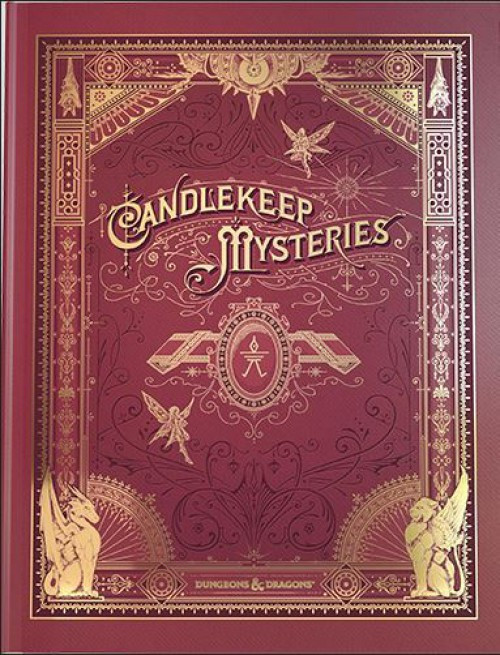 Dungeons & Dragons 5th Edition Candlekeep Mysteries Hardcover Roleplaying Book [Alternate Cover] (Pre-Order ships March)
