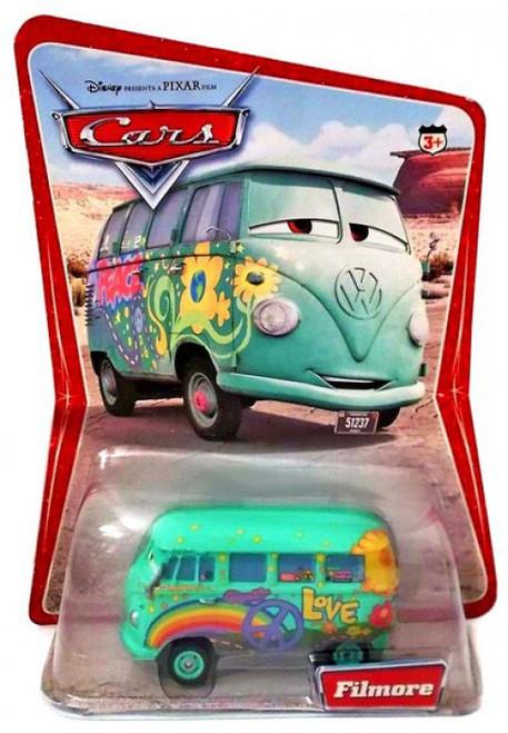Disney / Pixar Cars Series 1 Fillmore Diecast Car [Damaged Package]