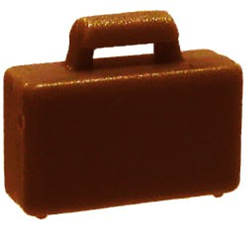 LEGO City Reddish Brown Briefcase [Loose]