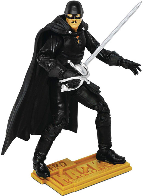 Hero H.A.C.K.S. Zorro Action Figure (Pre-Order ships June)