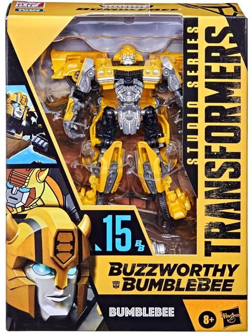Transformers Studio Series Buzzworthy Bumblebee Bumblebee Deluxe Action Figure #15 [15]