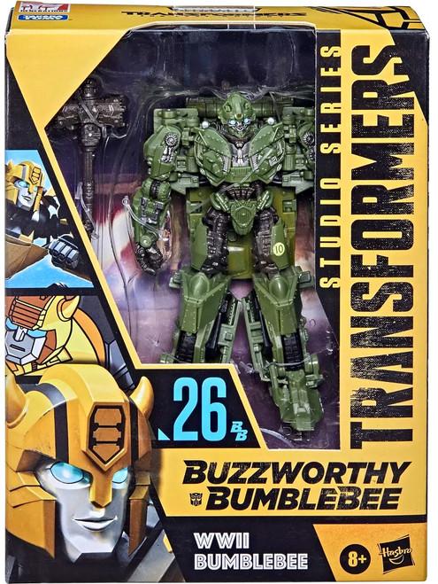 Transformers Studio Series Buzzworthy Bumblebee WWII Bumblebee Deluxe Action Figure #26