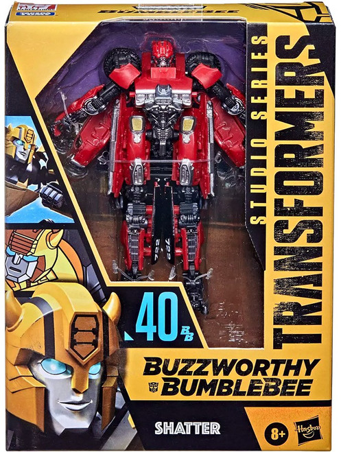 Transformers Buzzworthy Bumblebee Studio Series Shatter Exclusive Deluxe Action Figure [40]