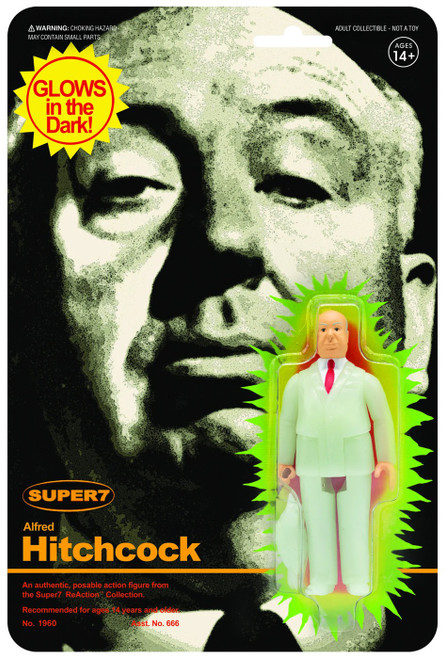 ReAction Monster Glow Alfred Hitchcock Action Figure