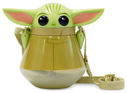 Disney Star Wars The Mandalorian The Child Flip-Top Canteen Exclusive