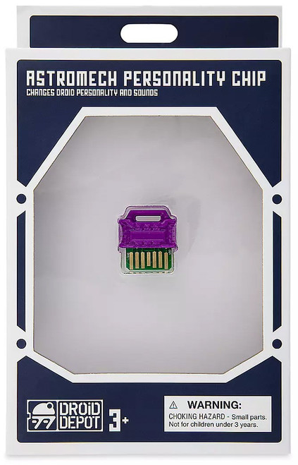Star Wars Galaxy's Edge Droid Depot Astromech Personality Chip Exclusive [Smuggler]