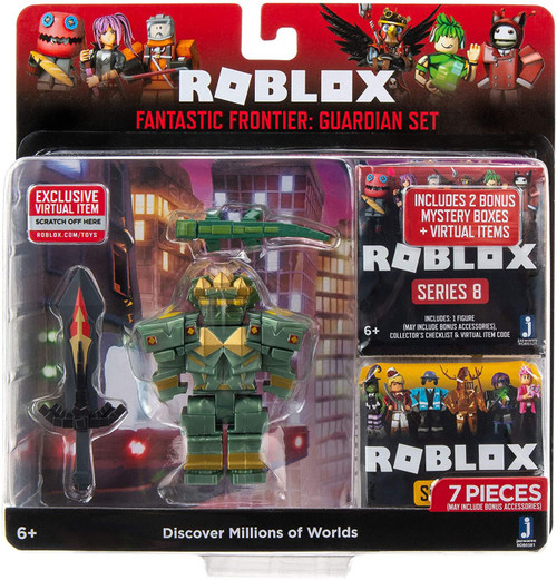 Roblox Fantastic Frontier: Guardian Set [2 Bonus Mystery Packs!]