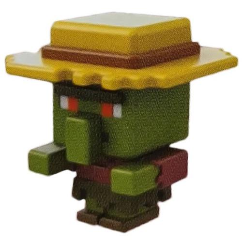 Minecraft Melon Series 22 Zombie Villager Minifigure [Loose]