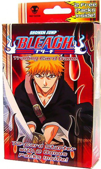 Bleach Trading Card Game Series 1 Premiere Starter Deck [72 Cards + 2 Booster Packs]