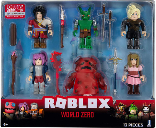 Roblox World Zero Action Figure 6-Pack