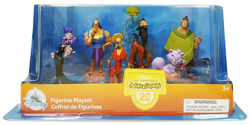 Disney The Emperor's New Groove Exclusive 6-Piece PVC Figure Play Set