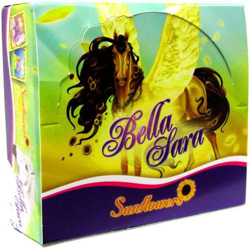 Bella Sara Collectible Card Game Sunflowers Booster Box [24 Packs]