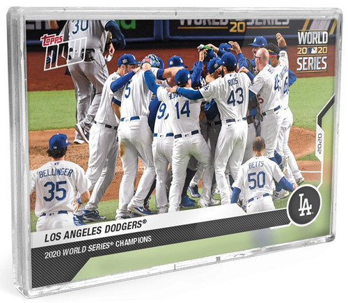 MLB Topps Now 2020 World Series Champions Los Angeles Dodgers 15 Card Base Set
