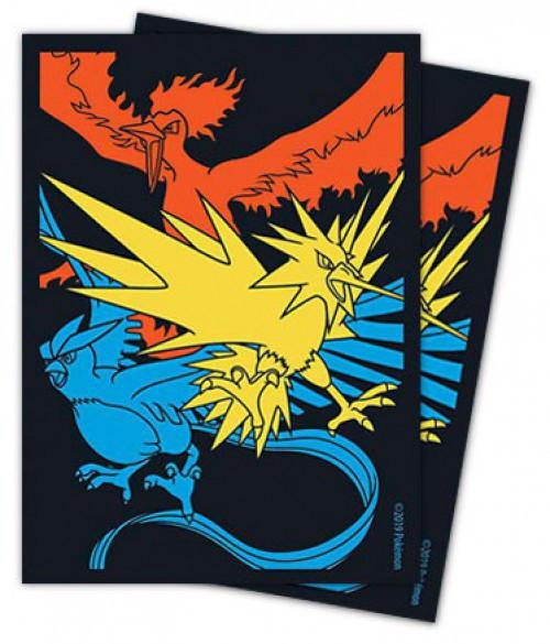 Pokemon Trading Card Game Hidden Fates Legendary Birds Card Sleeves [65 Count]